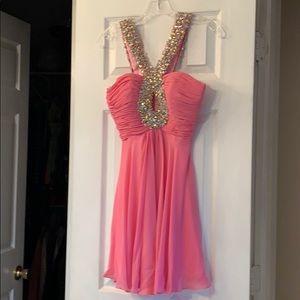 Alisha Hill prom dress